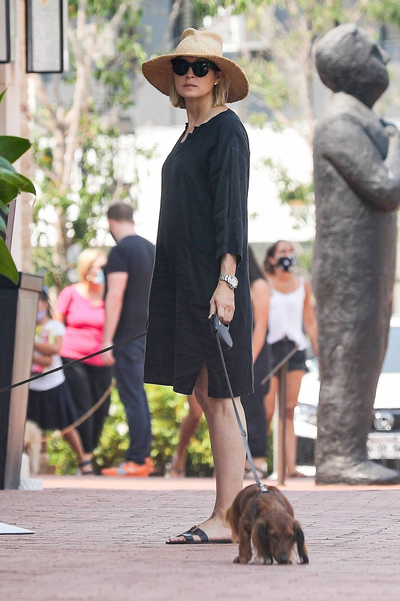 Kelly Rutherford 2020 : Kelly Rutherford – Shopping candids in Pacific Palisades-09
