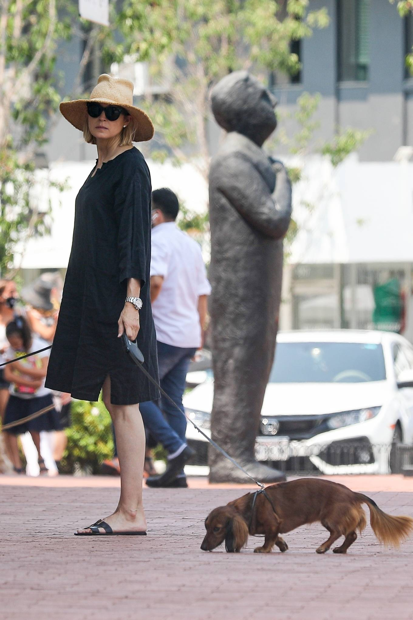 Kelly Rutherford 2020 : Kelly Rutherford – Shopping candids in Pacific Palisades-14