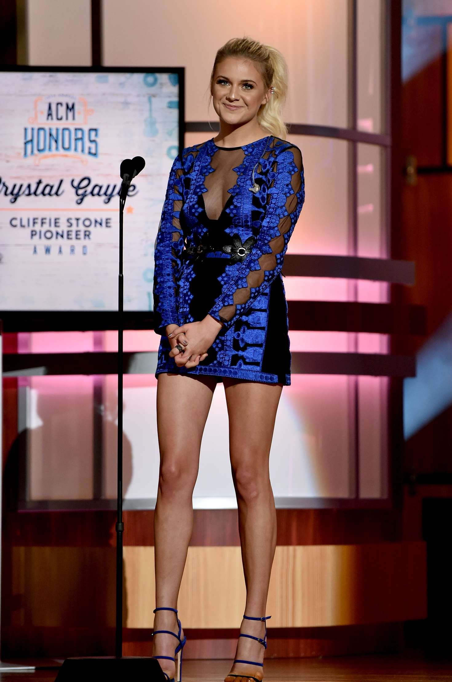 Kelsea Ballerini: 10th Annual ACM Honors at the Ryman ...