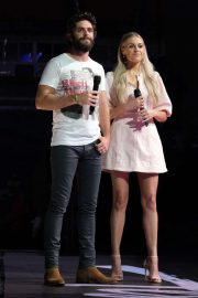Kelsea Ballerini and Thomas Rhett - Performs at 2019 CMA Music Festival in Nashville