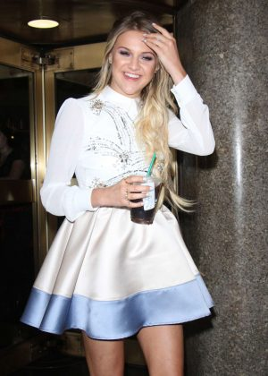 Kelsea Ballerini at NBC Studios in NYC