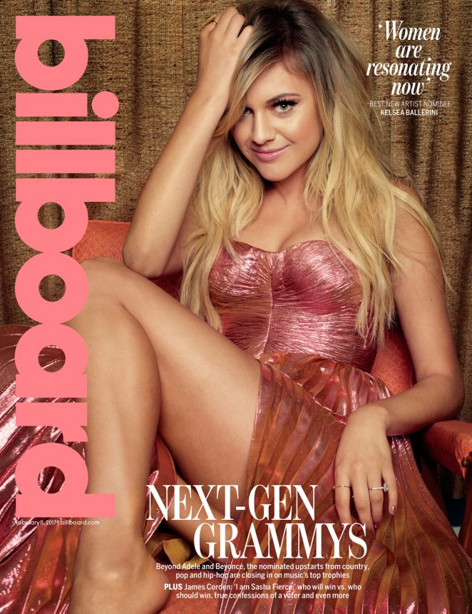 Kelsea Ballerini - Billboard Grammy Preview Cover Shoot 2017