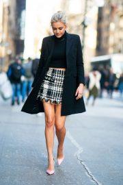 Kelsea Ballerini in Mini Skirt - Out in New York