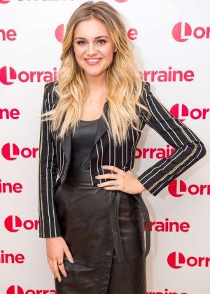 Kelsea Ballerini on 'Lorraine' TV show in London