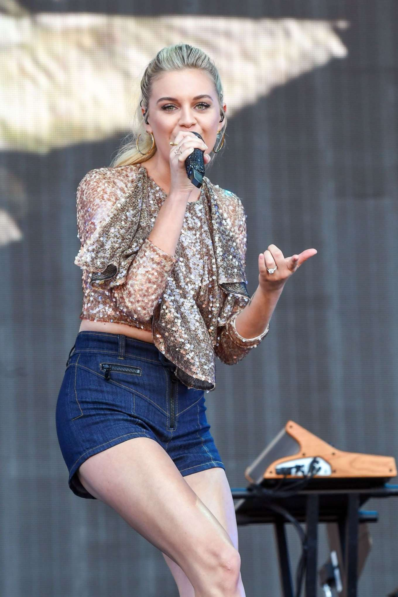 Kelsea Ballerini - Performs at BBC2 Radio Live 2019 in London