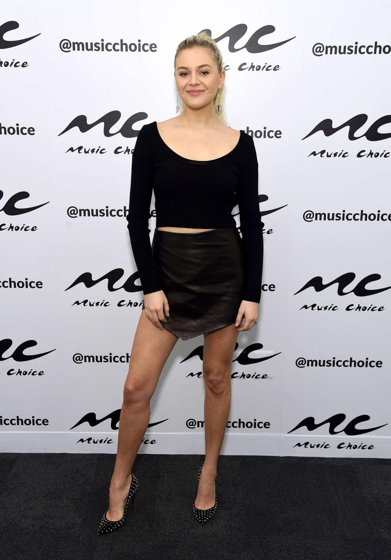 Kelsea Ballerini 2020 : Kelsea Ballerini visiting Music Choice in NYC-02