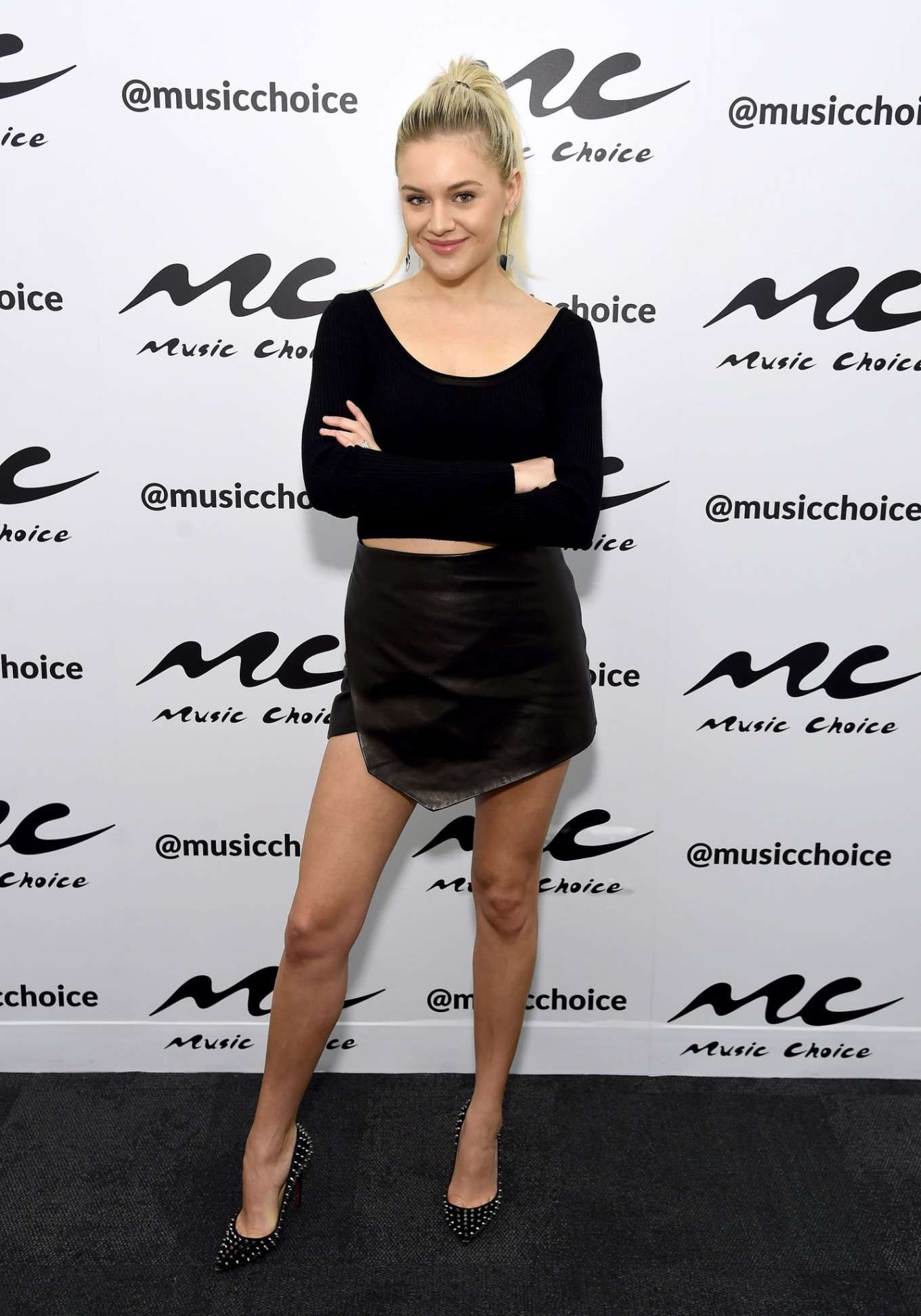 Kelsea Ballerini 2020 : Kelsea Ballerini visiting Music Choice in NYC-16