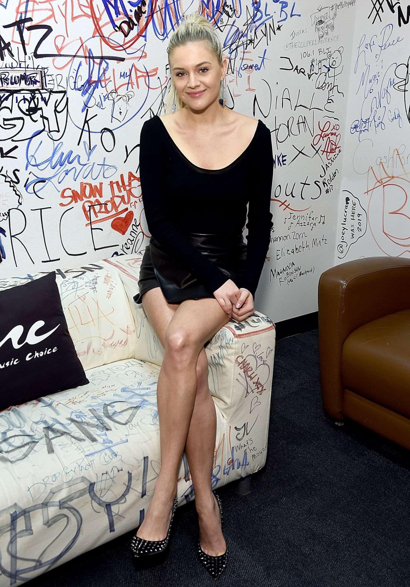 Kelsea Ballerini 2020 : Kelsea Ballerini visiting Music Choice in NYC-17