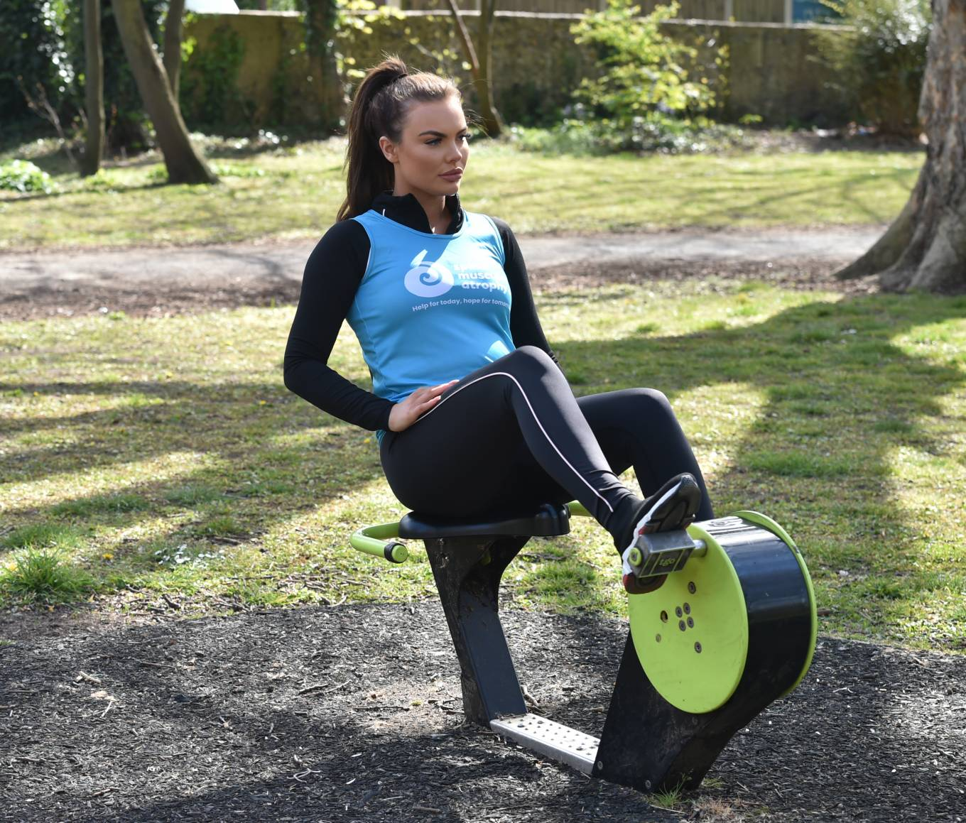 Kelsey Stratford - Pictured while training for her upcoming marathon in London