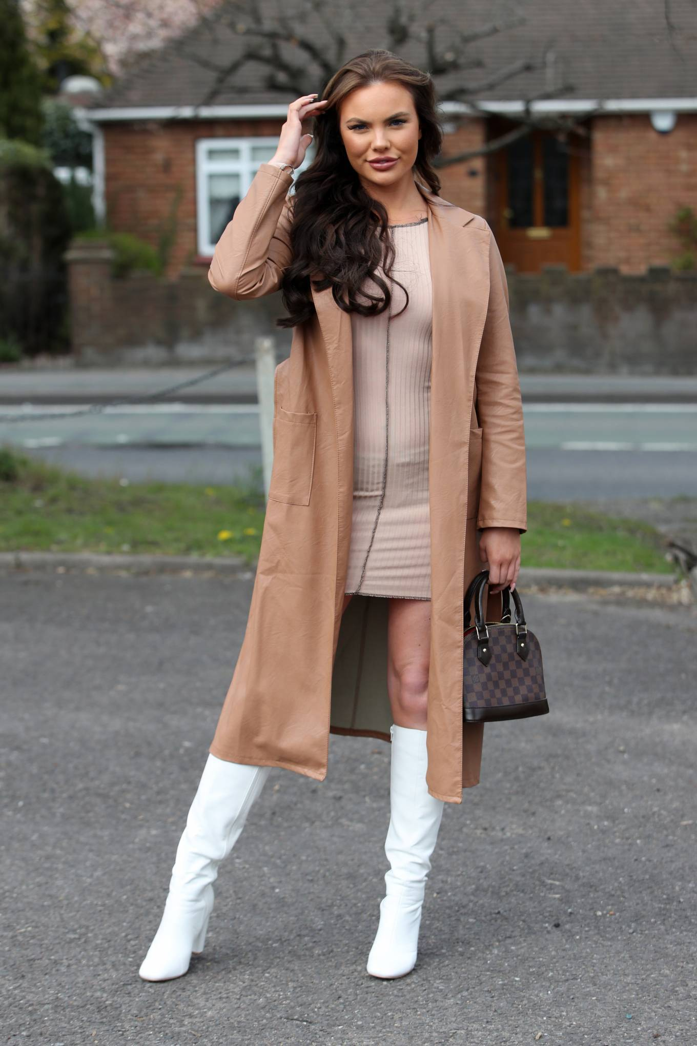 Kelsey Stratford 2021 : Kelsey Stratford – The Only Way is Essex TV Show filming in Essex-05