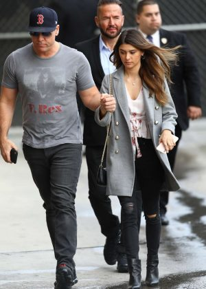 Kelsi Taylor and Dane Cook - Arrives at Jimmy Kimmel Live in Los Angeles