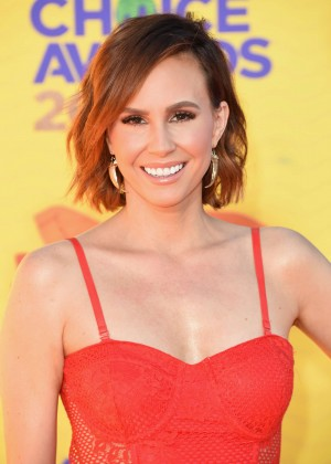 Keltie Knight - Nickelodeon Kids Choice Awards 2015 in Inglewood
