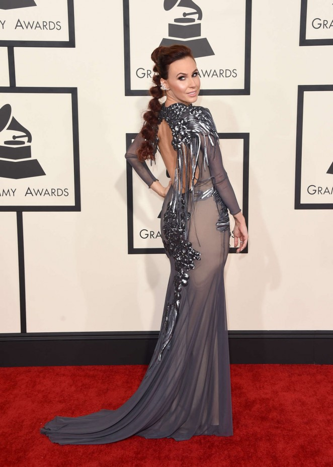 Keltie Knight - GRAMMY Awards 2015 in Los Angeles