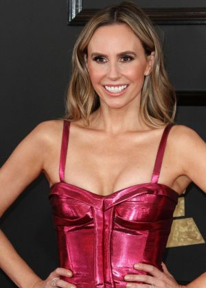 Keltie Knight - 59th GRAMMY Awards in Los Angeles