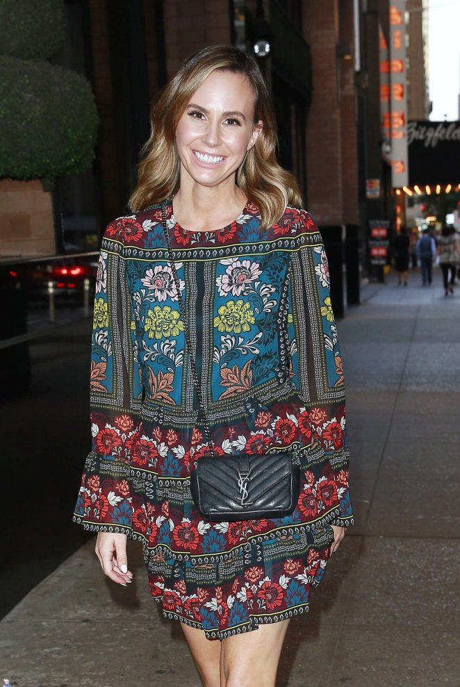 Keltie Knight Arriving at the London Hotel in NYC