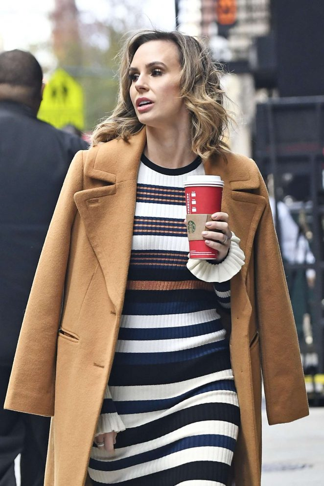 Keltie Knight out in New York City