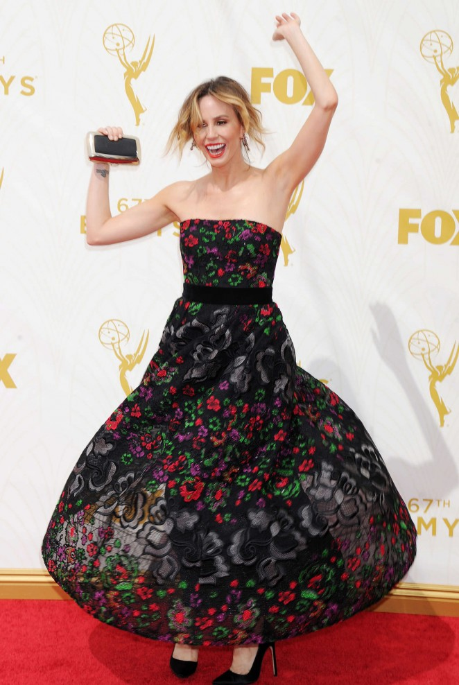 Keltie Knight - 2015 Primetime Emmy Awards in LA