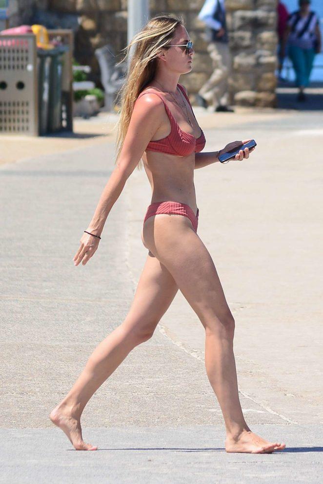 Kendal Lee Schuler in Bikini at Bondi Beach in Sydney