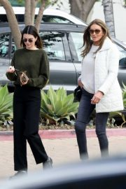 Kendall and Caitlyn Jenner - Out for lunch in Malibu
