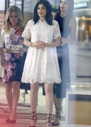 Kendall and Kylie Jenner at the Today Show in NYC