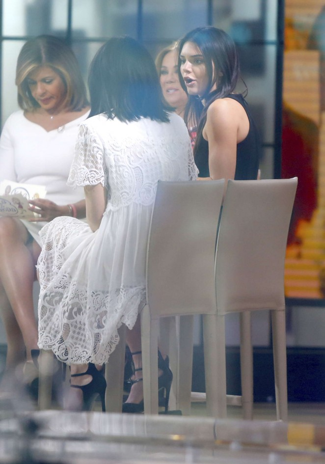 Kendall and Kylie Jenner at the Today Show -03