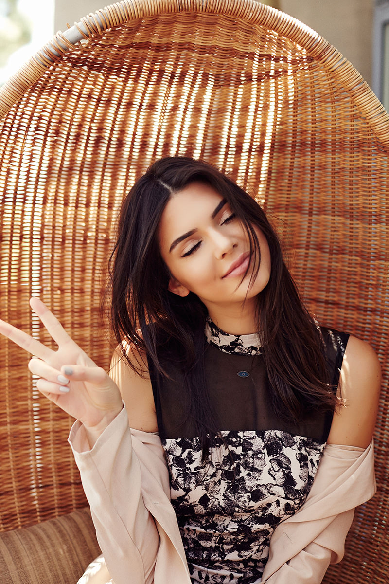 """Kendall and Kylie Jenner - """"Kendall & Kylie"""" Clothing Line 2015 adds"""