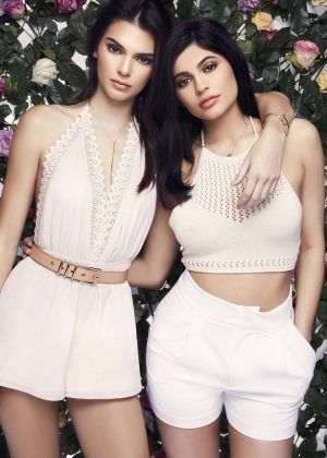 Kendall and Kylie Jenner - PacSun's Exclusive Paradise Lost Collection Photoshoot 2016