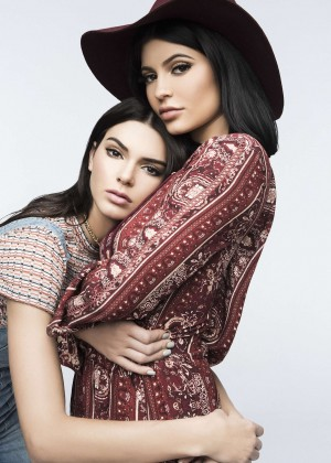 Kendall and Kylie Jenner - Pacsun Spring 2016 collection