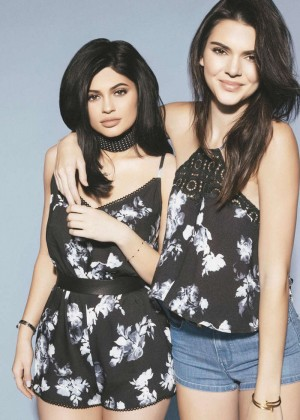 Kendall and Kylie Jenner - Pacsun Summer Collection 2016