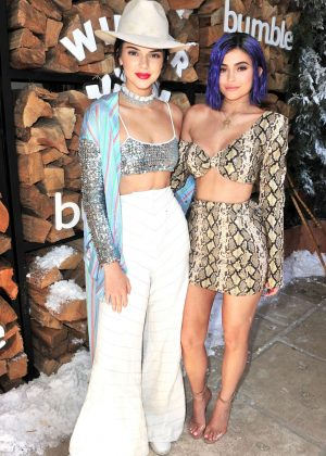 Kendall and Kylie Jenner - Winter Bumbleland in Rancho Mirage