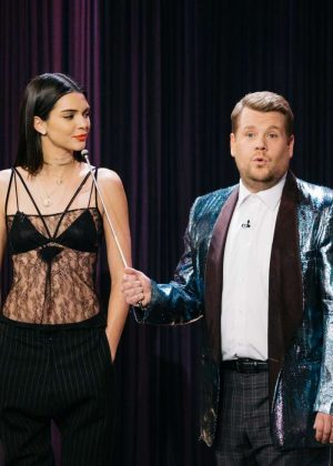 Kendall Jenner 0n 'The Late Late Show with James Corden' in LA