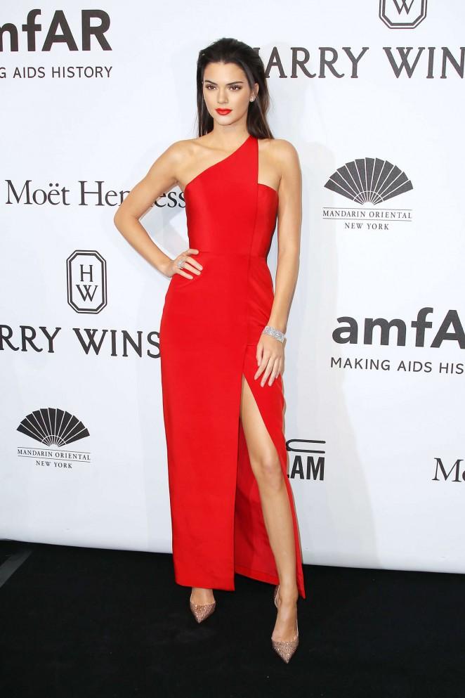 Kendall Jenner - amfAR New York Gala 2015