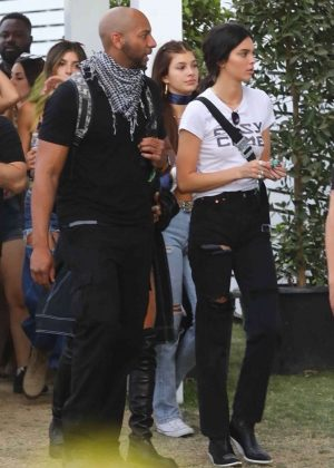 Kendall Jenner - 2018 Coachella Festival in Indio