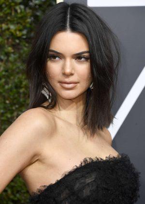 Kendall Jenner - 2018 Golden Globe Awards in Beverly Hills