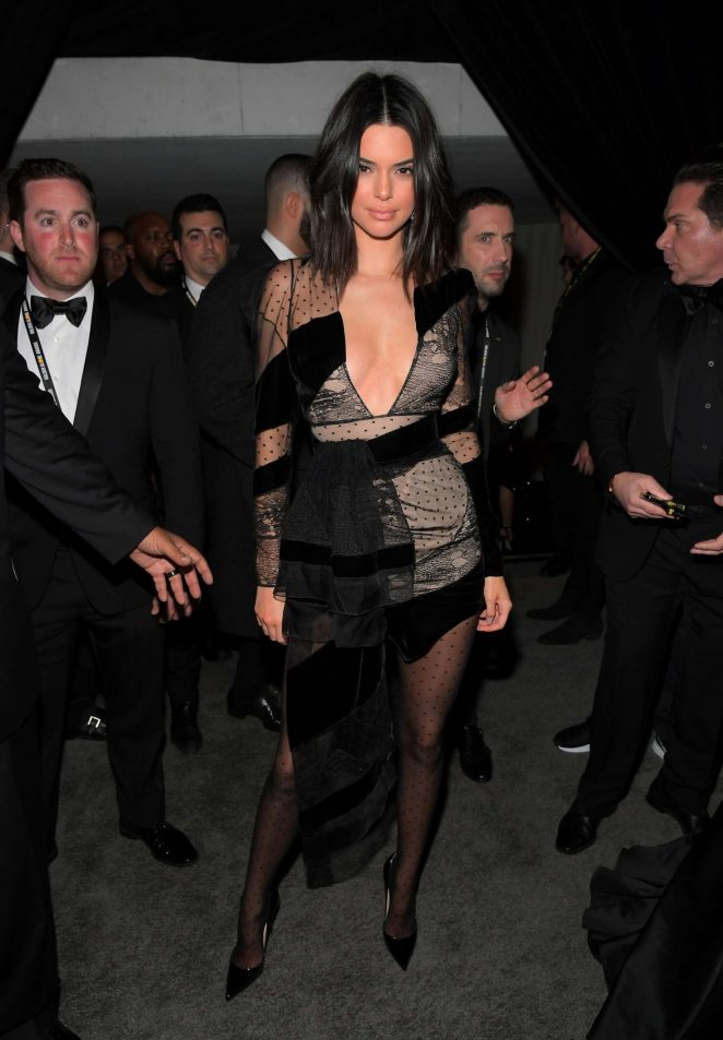 Kendall Jenner - 2018 InStyle and Warner Bros Golden Globes After Party in LA