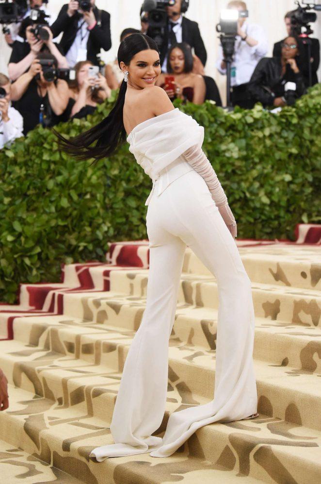 Kendall Jenner – 2018 MET Costume Institute Gala in NYC