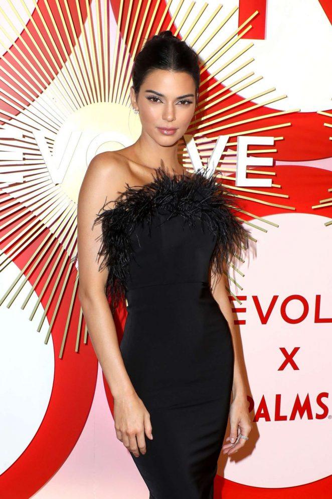 Kendall Jenner - 2018 REVOLVE Awards in Las Vegas