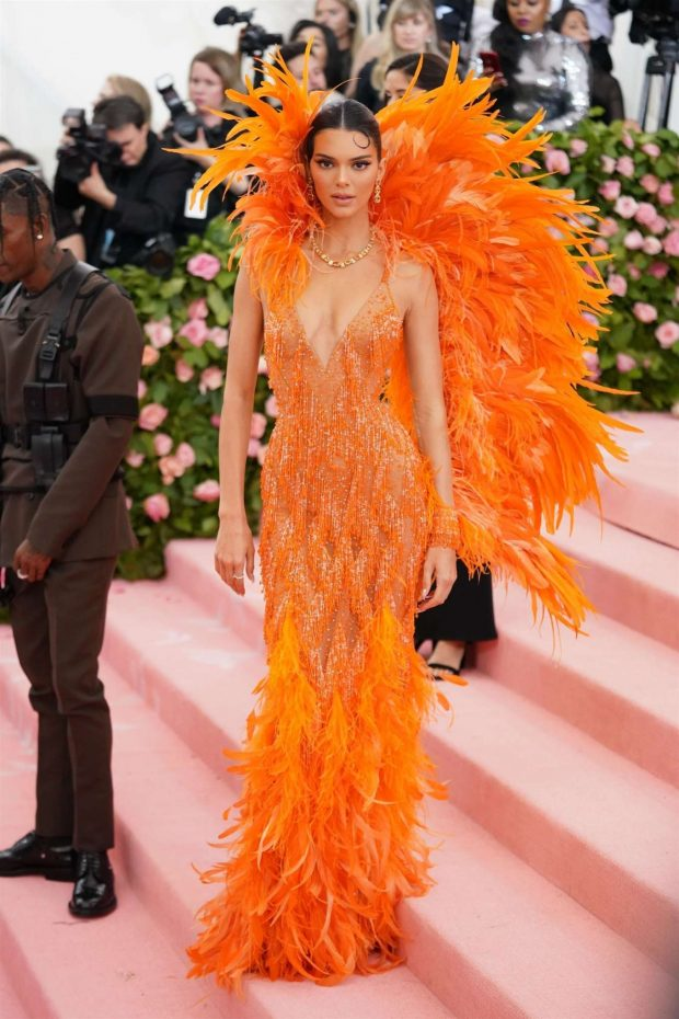 Kendall Jenner: 2019 Met Gala -01