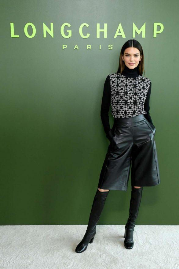 Kendall Jenner - 2020 Longchamp show at New York Fashion Week