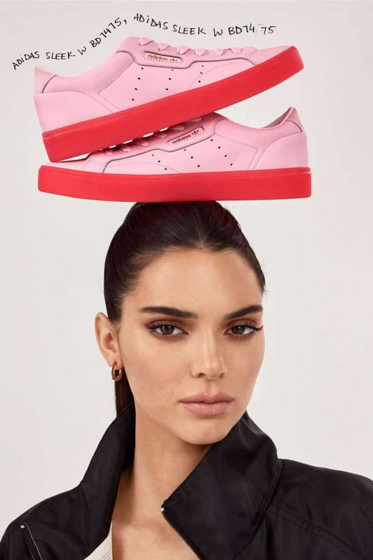 Kendall Jenner: Adidas New Sleek Lookbook 2019 Collection -02