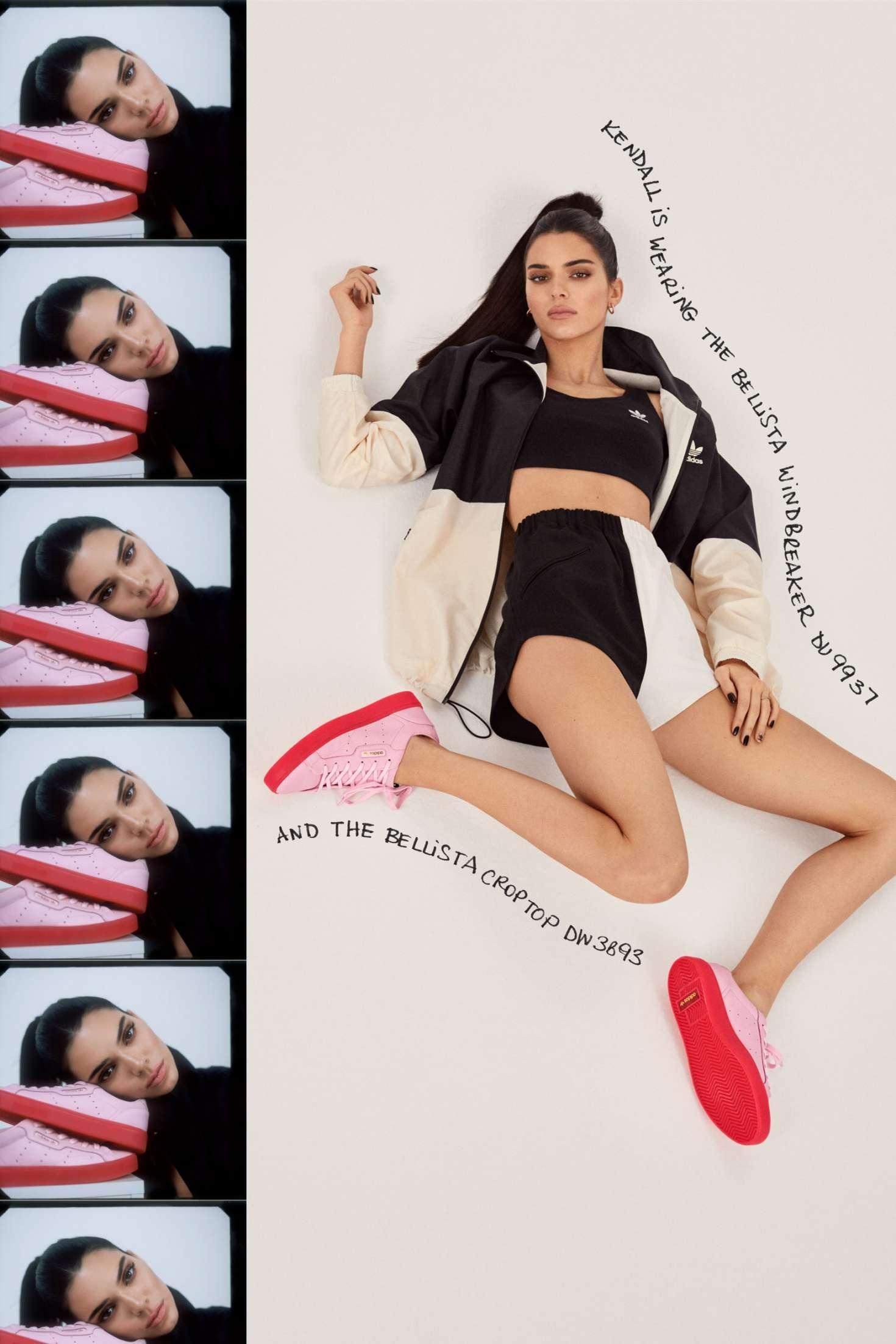 Kendall Jenner 2019 : Kendall Jenner: Adidas New Sleek Lookbook 2019 Collection -05