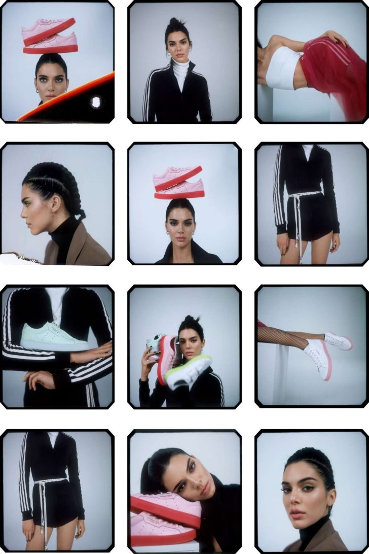 Kendall Jenner: Adidas New Sleek Lookbook 2019 Collection -11