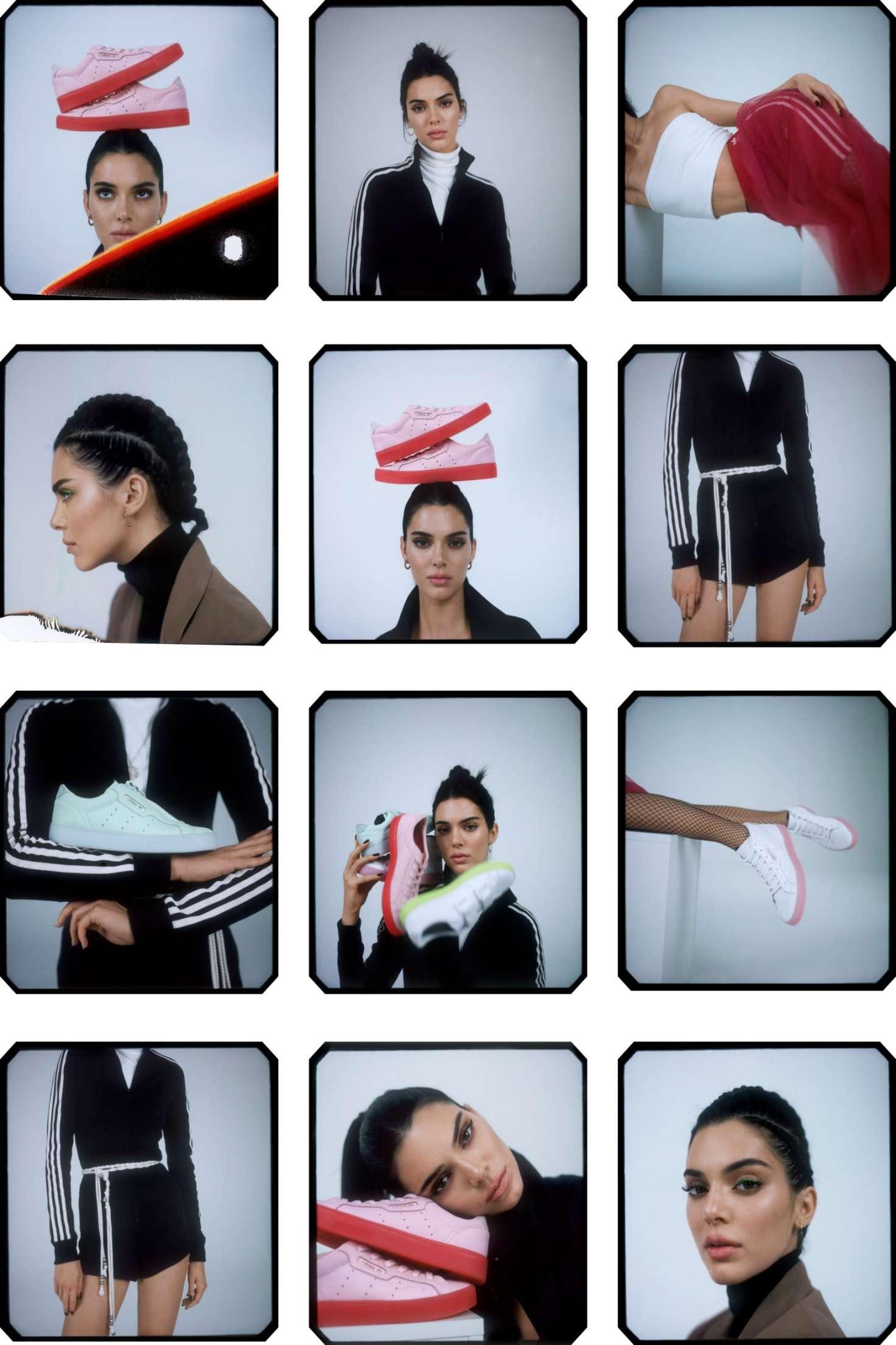 Kendall Jenner 2019 : Kendall Jenner: Adidas New Sleek Lookbook 2019 Collection -11