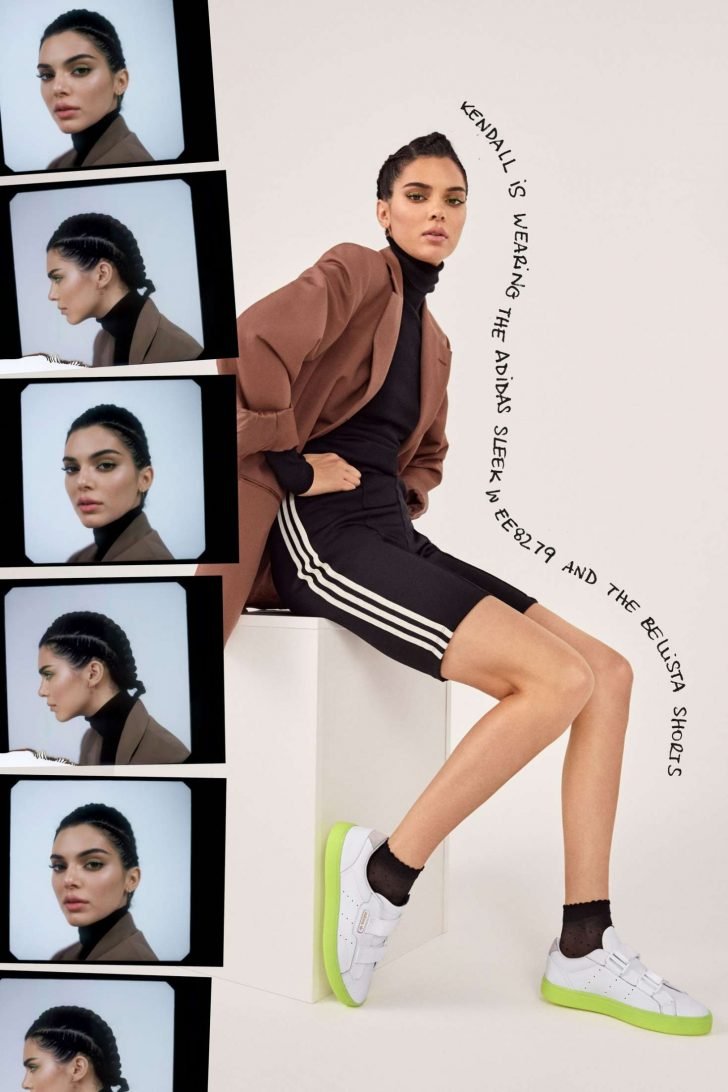 Kendall Jenner 2019 : Kendall Jenner: Adidas New Sleek Lookbook 2019 Collection -13