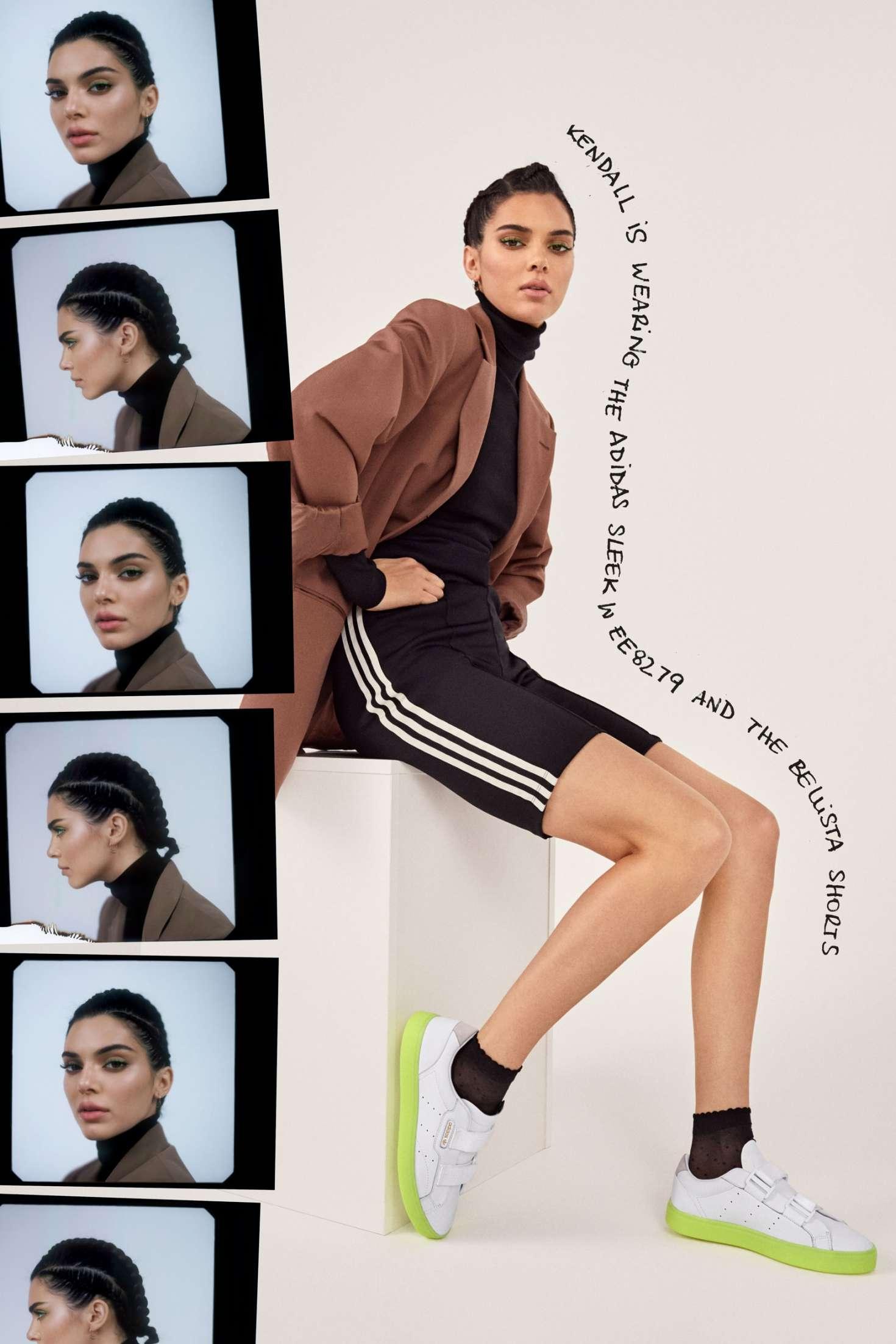 Kendall Jenner 2019 : Kendall Jenner: Adidas New Sleek Lookbook 2019 Collection -13