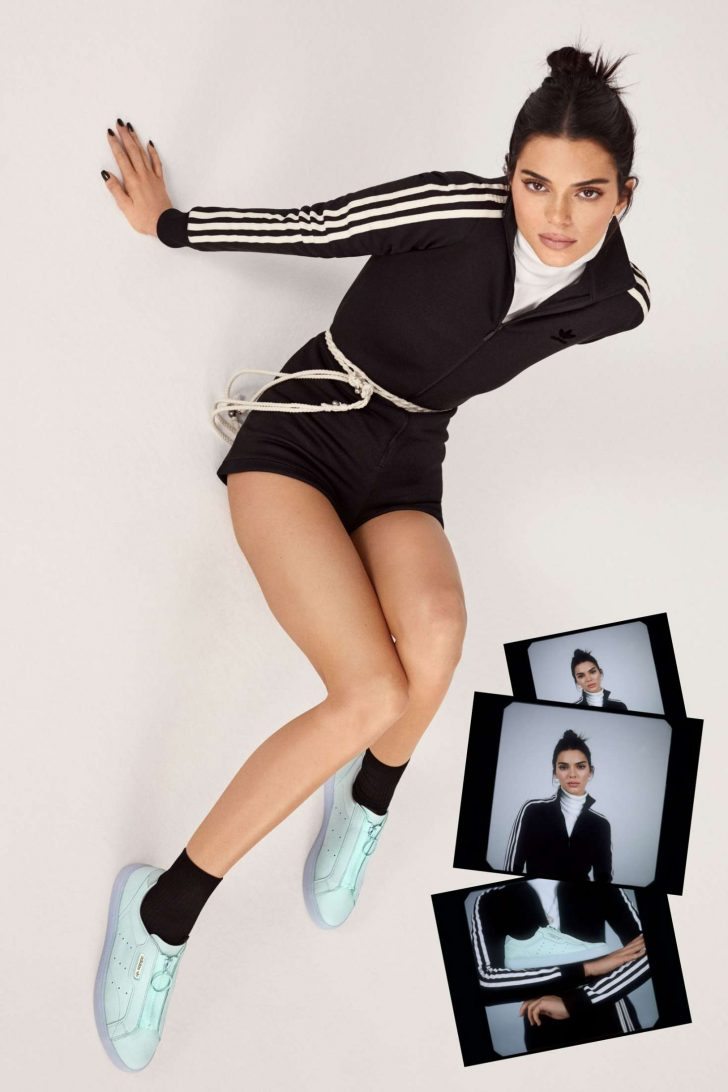 Kendall Jenner: Adidas New Sleek Lookbook 2019 Collection -15