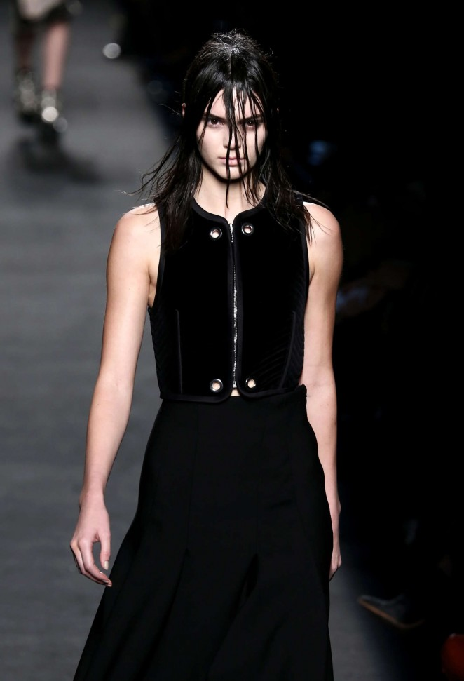 Kendall Jenner – Alexander Wang Fashion Show in NY
