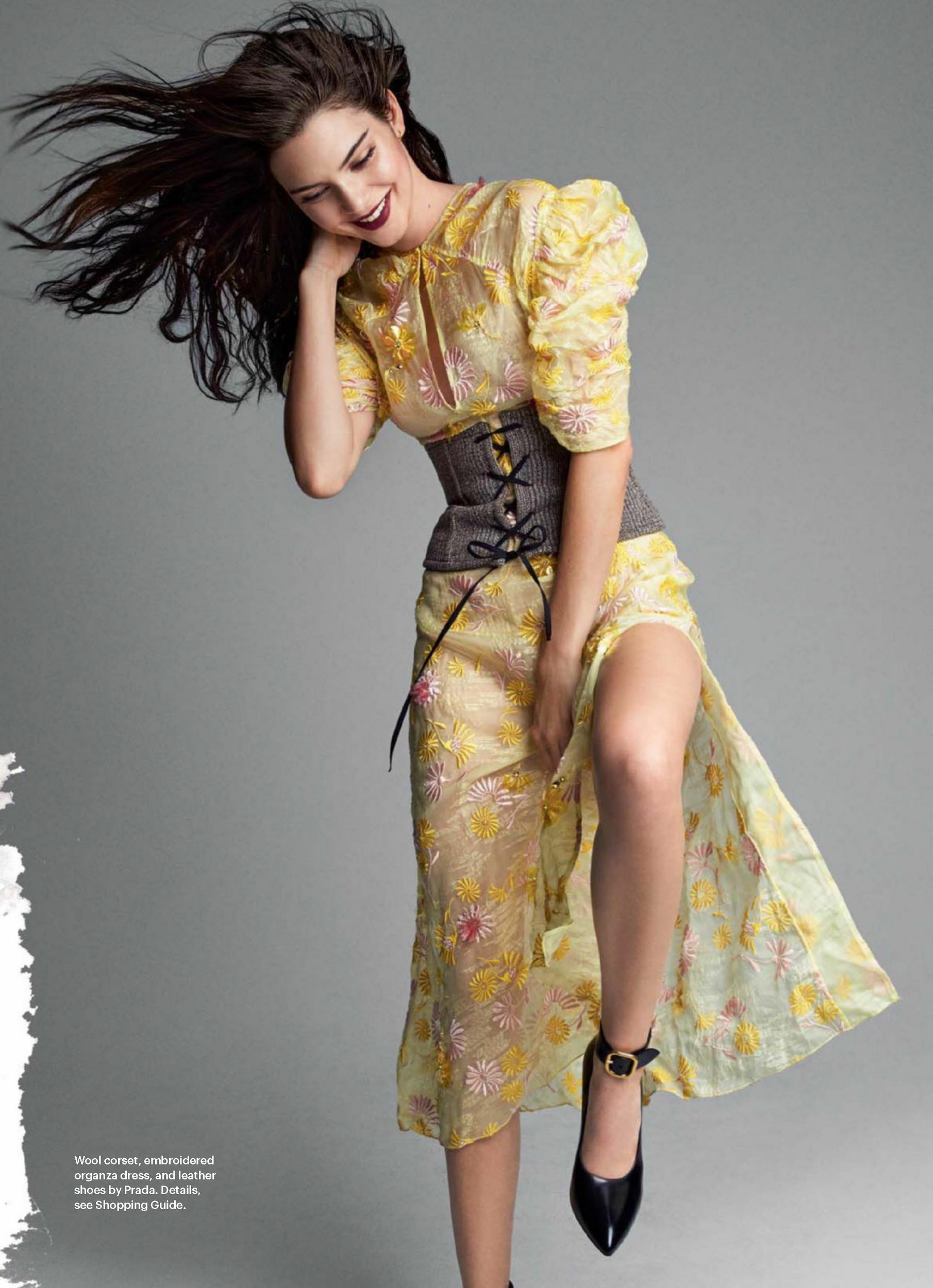 Kendall Jenner Allure Us 2016 16 Gotceleb