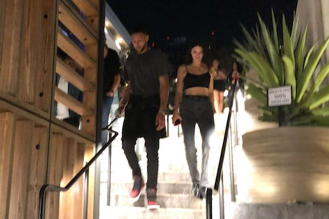 Kendall Jenner and Ben Simmons - Leaving Javier's Restaurant in West Hollywood