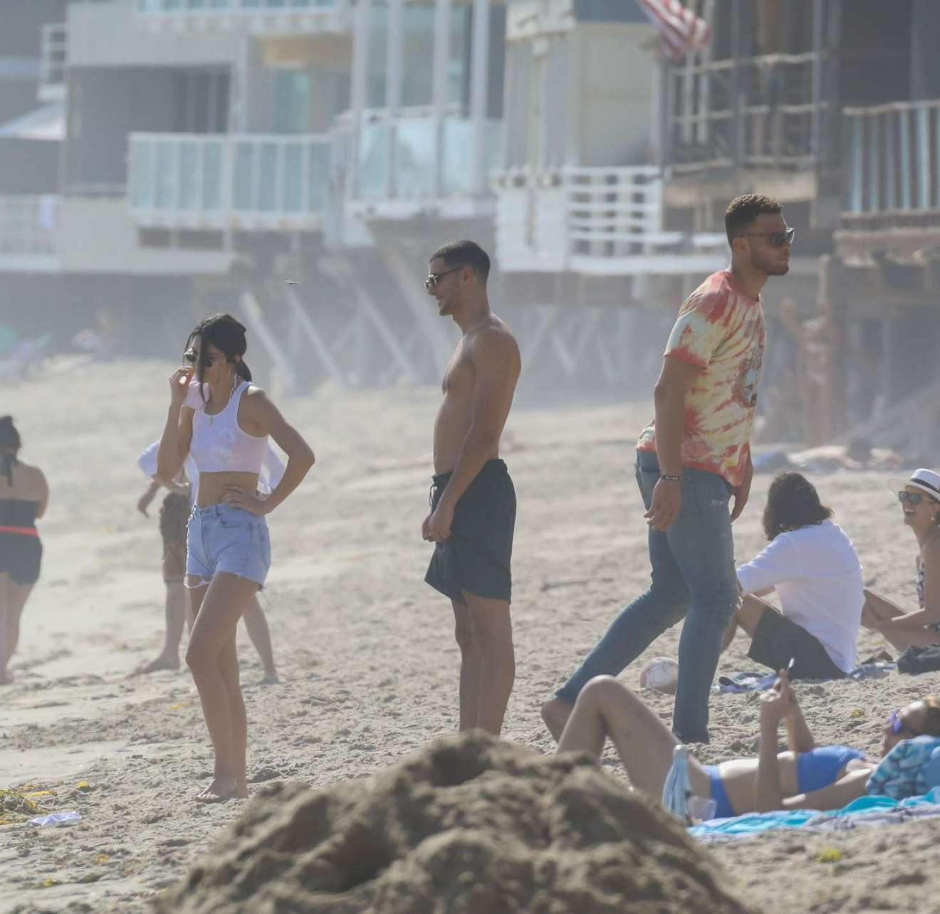 Kendall Jenner And Blake Griffin Seen At Beach In Malibu